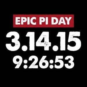 EPIC Pi Day Free 5k!!!!!