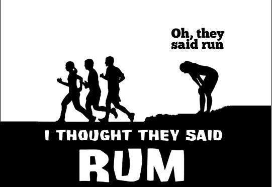 "4th Annual ""I Thought They Said RUM"" FREE 5K Fun Run"