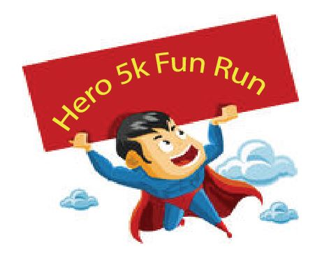 Hero 5k Fun Run Results – July 16, 2016