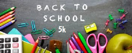 Back to School FREE 5k Fun Run