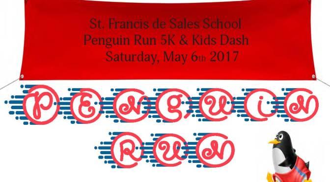 Penguin Run 5K RESULTS – May 6, 2017