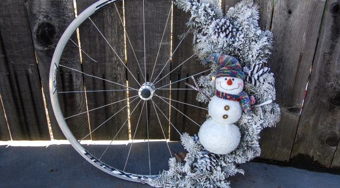 Holiday Bicycle Wreath Workshop