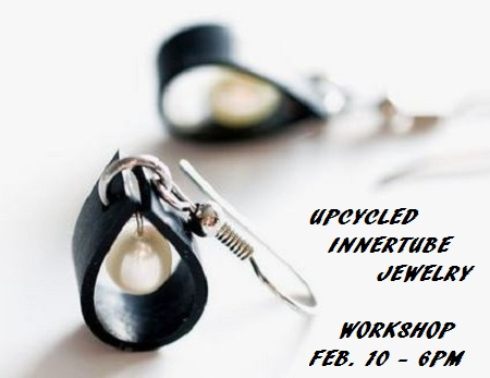 Upcycled Innertube Jewelry Workshop