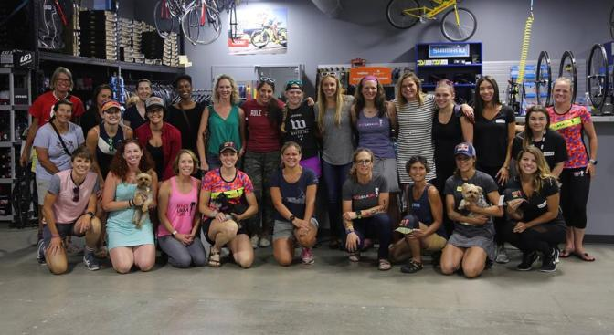 Girls Get Gritty at TriCycle and Run